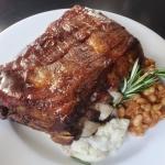 smoked pork ribs